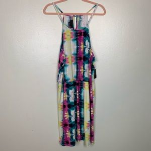 Pastel colors summer dress